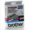 Páska BROTHER TX211 Black On White Tape (6mm)